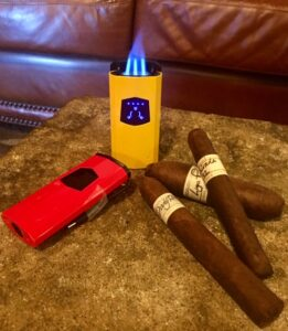 USB lighters and cigars