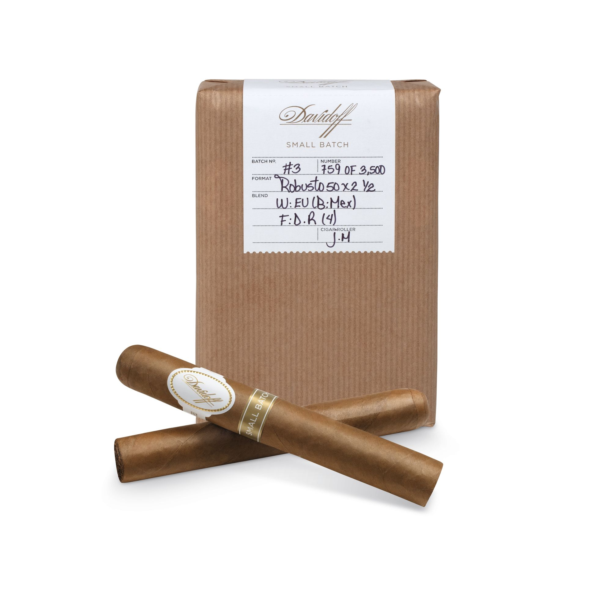 Davidoff Small Batch Number 3