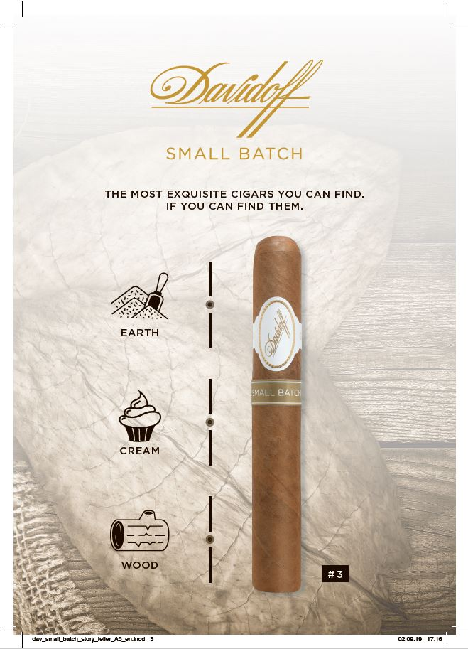 Davidoff Small Batch Number 3 details
