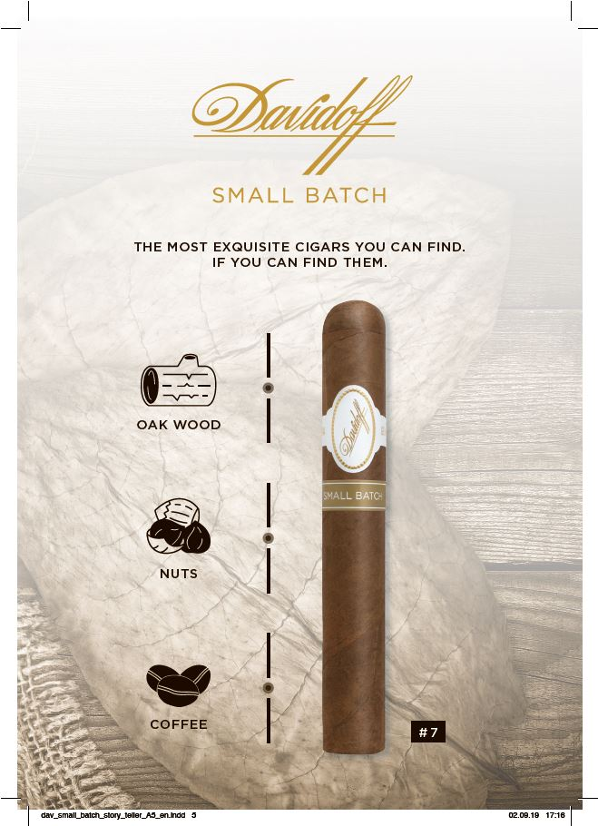 Davidoff Small Batch Number 7 details
