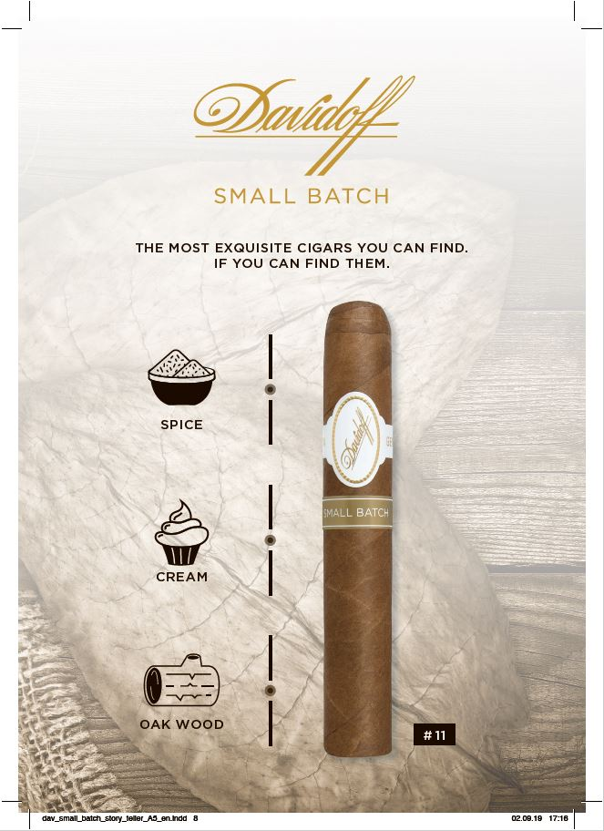 Davidoff Smal Batch Number 11 details